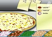 זמן כיף בהכנת פיצה