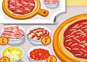 טזה מכינה פיצה